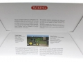 Wiking 7344 - John Deere 6125R mit Frontlader Karton hinten