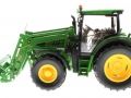 Wiking 7344 - John Deere 6125R mit Frontlader links
