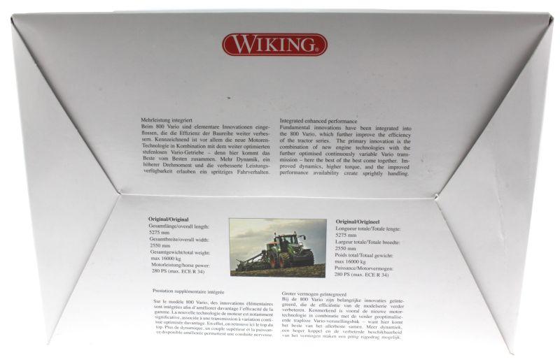 Wiking 7345 - Fendt 828 Vario karton hinten