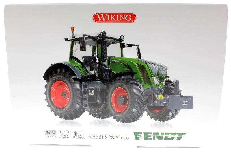 Wiking 7345 - Fendt 828 Vario Karton vorne