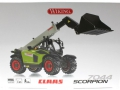 Wiking 7347 - Claas Scorpion 7044 Teleskoplader Karton vorne