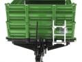 Wiking 7348 - Brantner E6035 Einachs-Dreiseitenkipper vorne