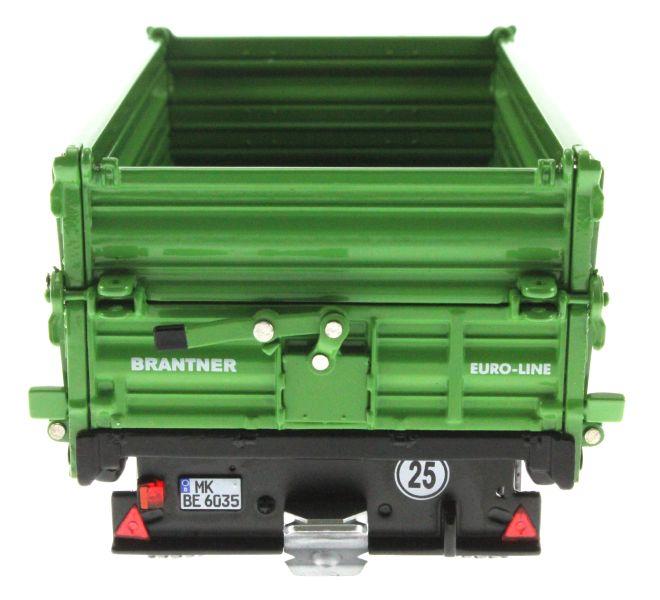 Wiking 7348 - Brantner E6035 Einachs-Dreiseitenkipper hinten
