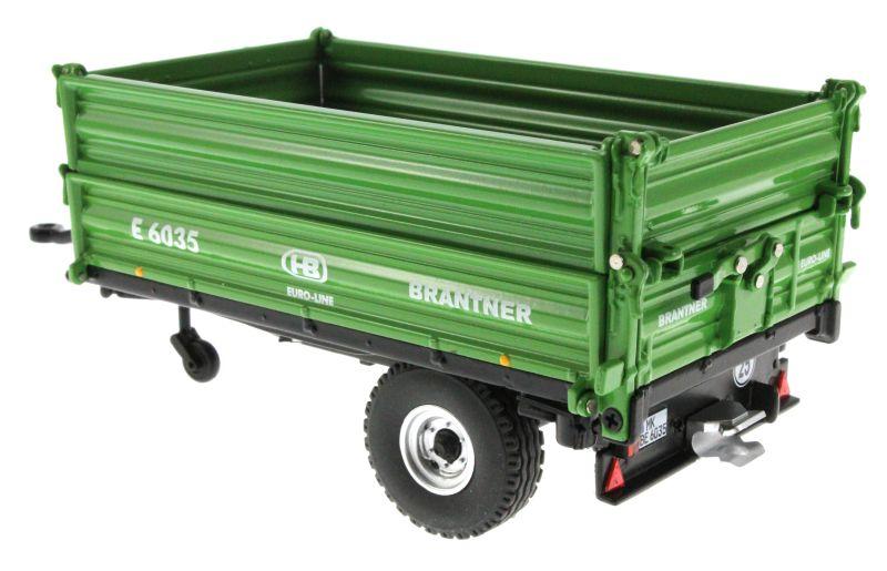 Wiking 7348 - Brantner E6035 Einachs-Dreiseitenkipper hinten links