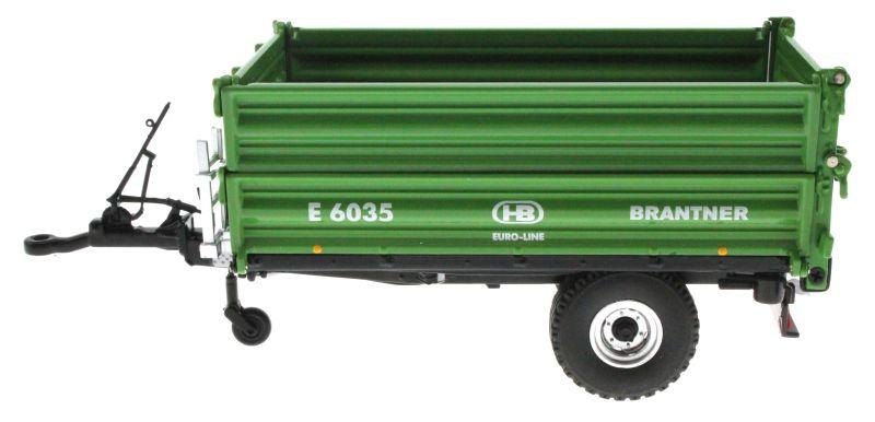 Wiking 7348 - Brantner E6035 Einachs-Dreiseitenkipper links