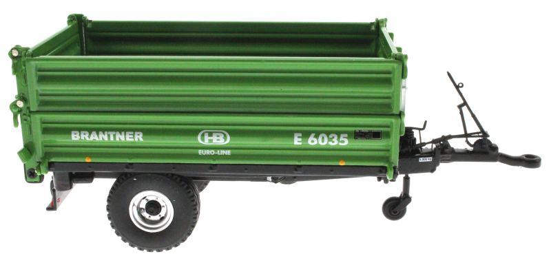 Wiking 7348 - Brantner E6035 Einachs-Dreiseitenkipper