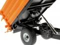 Wiking 7348AG - Einachs-Dreiseitenkipper Brantner E6035 Orange Agritechnica gekippt nah