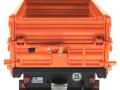 Wiking 7348AG - Einachs-Dreiseitenkipper Brantner E6035 Orange Agritechnica hinten