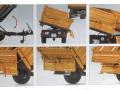 Wiking 7348AG - Einachs-Dreiseitenkipper Brantner E6035 Orange Agritechnica Karton innen