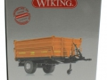 Wiking 7348AG - Einachs-Dreiseitenkipper Brantner E6035 Orange Agritechnica karton Seite