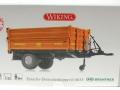 Wiking 7348AG - Einachs-Dreiseitenkipper Brantner E6035 Orange Agritechnica Karton vorne