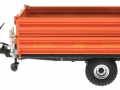 Wiking 7348AG - Einachs-Dreiseitenkipper Brantner E6035 Orange Agritechnica links
