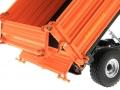 Wiking 7348AG - Einachs-Dreiseitenkipper Brantner E6035 Orange Agritechnica Ladewand-Klappen