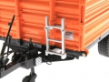 Wiking 7348AG - Einachs-Dreiseitenkipper Brantner E6035 Orange Agritechnica Leiter
