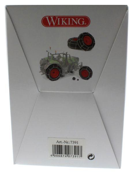 Wiking 7391 - Räder mit Kette für Fendt 828 Vario Karton hinten