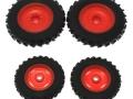 Wiking 7395 - Rädersatz Pflegebereifung für Claas Arion 400