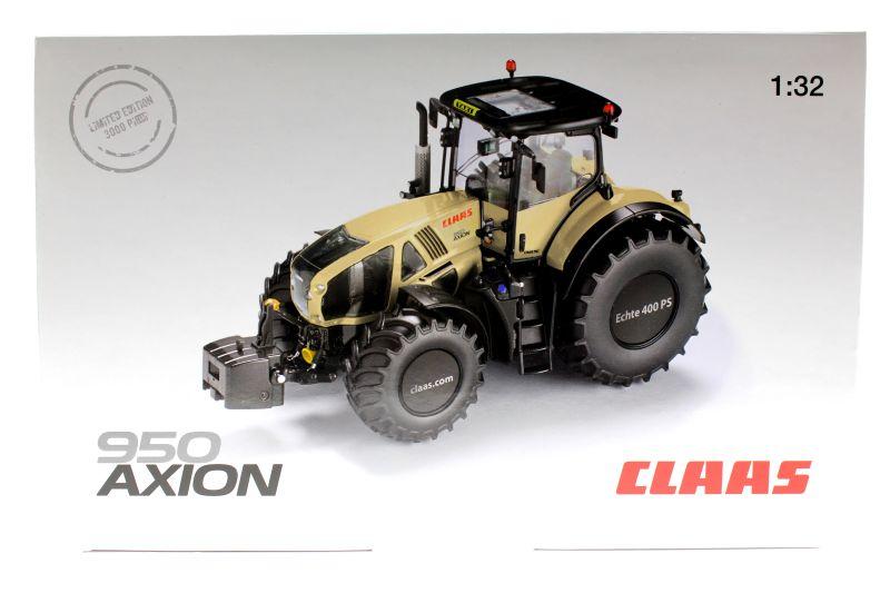 Wiking 77314 - Claas Axion 950 - Taxi-Version Karton