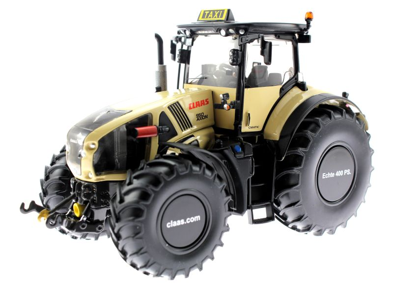 Wiking 77314 - Claas Axion 950 - Taxi-Version vorne links