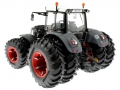 Wiking 77323wb - Fendt 939 Vario Black Beauty mit Zwillingsbereifung hinten links