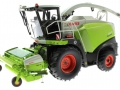 Wiking 7812 - Claas 860 Jaguar Feldhäcksler mit Pick Up 300 vorne links