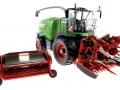 Wiking 7813 - Fendt Katana 85 mit Pickup und Maisvorsatz