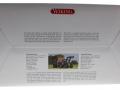 Wiking 7815 - Valtra T174 weiß mit Frontlader Karton hinten