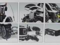 Wiking 7815 - Valtra T174 weiß mit Frontlader Karton innen