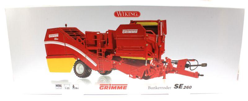 Wiking 7816 - Grimme Bunkerroder SE 260 Karton vorne