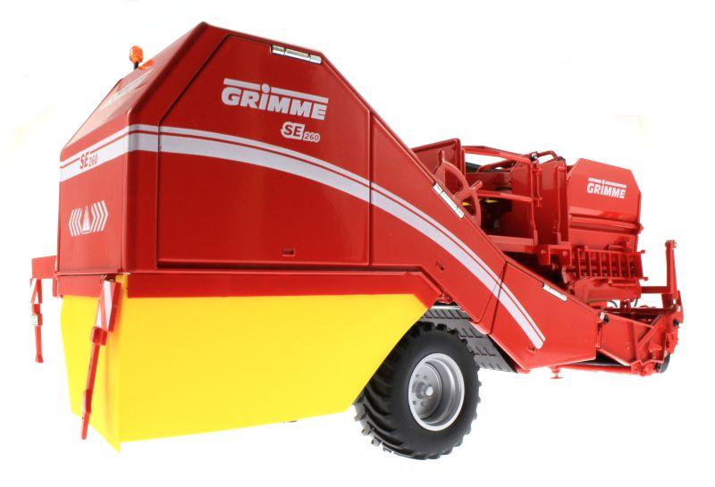Wiking 7816 - Grimme Bunkerroder SE 260 unten hinten rechts