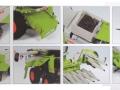 Wiking 7818 - Claas Tucano 570 mit Maisvorsatz Conspeed 8-75 Karton innen