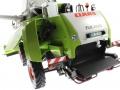 Wiking 7818 - Claas Tucano 570 mit Maisvorsatz Conspeed 8-75 Motor hinten links