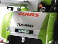 Wiking 7818 - Claas Tucano 570 mit Maisvorsatz Conspeed 8-75 Nummernschild
