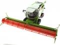 Wiking 7824 - Claas Lexion 760TT Mähdrescher mit V1200 Getreidevorsatz oben vorne links