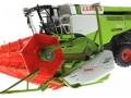 Wiking 7824 - Claas Lexion 760TT Mähdrescher mit V1200 Getreidevorsatz unten vorne links