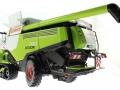 Wiking 7824 - Claas Lexion 760TT Mähdrescher mit V1200 Getreidevorsatz unten hinten links
