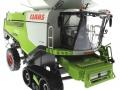 Wiking 7824 - Claas Lexion 760TT Mähdrescher mit V1200 Getreidevorsatz vorne rechts