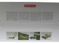 Wiking 7825 - Claas Direct Disc 520 mit Schneidewagen Karton hinten