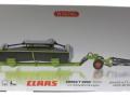 Wiking 7825 - Claas Direct Disc 520 mit Schneidewagen Karton vorne