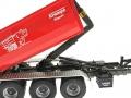 Wiking 7826 - Krampe Kipper Hakenlift THL 30 L mit Abrollcontaine Big Body 750 gekippt nah