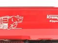 Wiking 7826 - Krampe Kipper Hakenlift THL 30 L mit Abrollcontaine Big Body 750  Logo