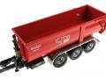 Wiking 7826 - Krampe Kipper Hakenlift THL 30 L mit Abrollcontaine Big Body 750 oben vorne links