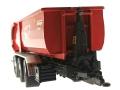 Wiking 7826 - Krampe Kipper Hakenlift THL 30 L mit Abrollcontaine Big Body 750  vorne