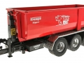Wiking 7826 - Krampe Kipper Hakenlift THL 30 L mit Abrollcontaine Big Body 750 vorne links