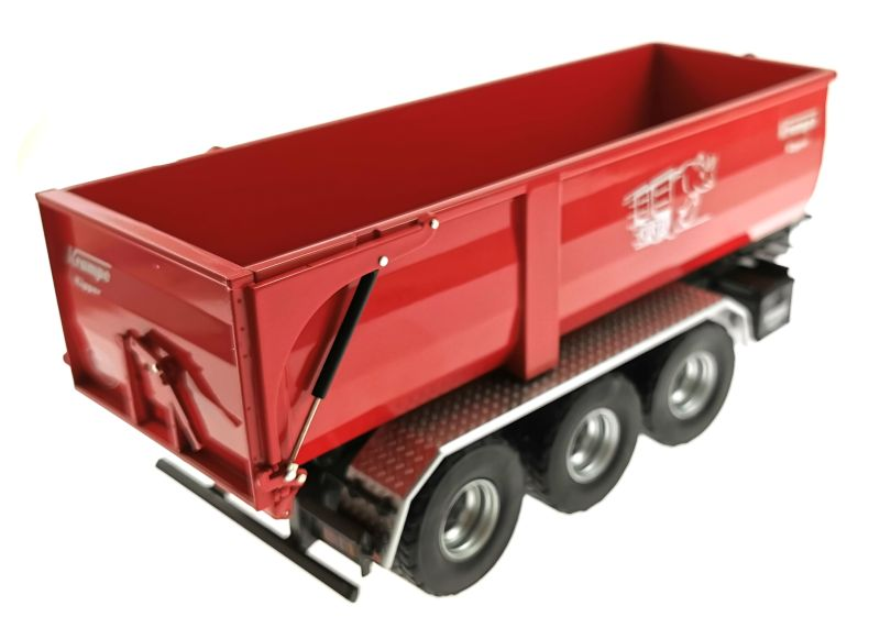 Wiking 7826 - Krampe Kipper Hakenlift THL 30 L mit Abrollcontaine Big Body 750 hinten rechts