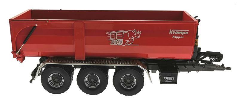 Wiking 7826 - Krampe Kipper Hakenlift THL 30 L mit Abrollcontaine Big Body 750 rechts