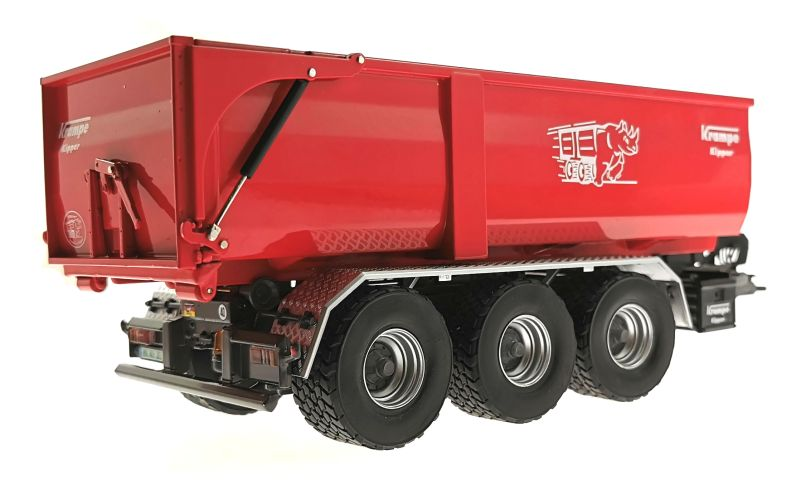 Wiking 7826 - Krampe Kipper Hakenlift THL 30 L mit Abrollcontaine Big Body 750 unten hinten rechts
