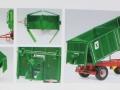 Wiking 7827 - Dreiseitenkipper HKD 302 Agroliner Karton innen