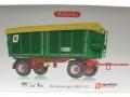 Wiking 7827 - Dreiseitenkipper HKD 302 Agroliner Karton vorne