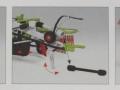 Wiking 7828 - Claas Schwader Liner 2600 Karton innen