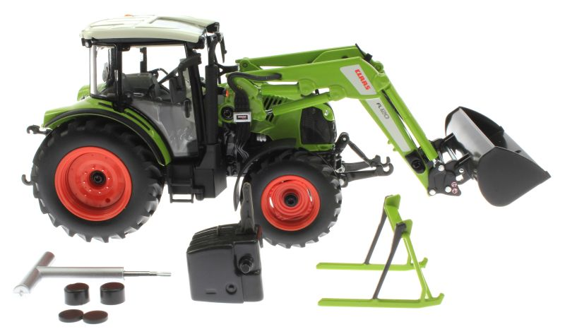 Wiking claas arion mit frontlader fl